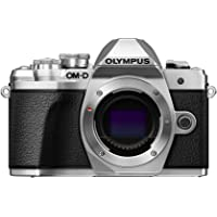 Olympus OM-D E-M10 Mark III Body Only - 16.1 Megapixel Mirrorless Camera, Silver
