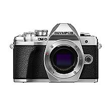 Olympus OM-D E-M10 Mark III camera body (silver), Wi-Fi enabled, 4K video