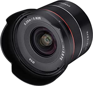Samyang AF 18mm F2.8 Wide Angle auto Focus Full Frame Lens for Sony E Mount