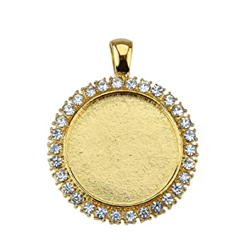 Cameos for Pendants Cabochons 20 Small Gold Plated Oval Glue on Bails Glass