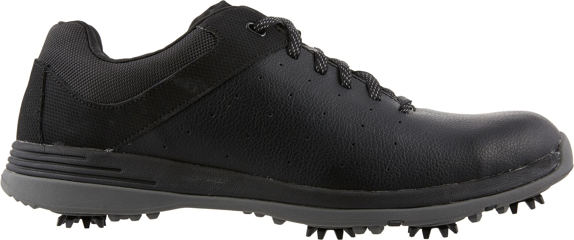 Walter Hagen Spiked Legacy Golf Shoes - Black, 11.5 D(M) US