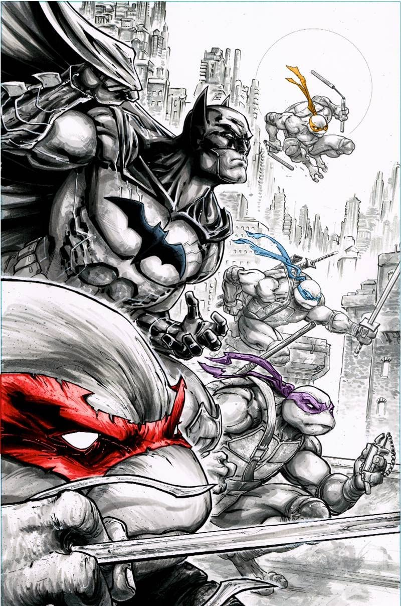 Batman Teenage Mutant Ninja Turtles #2 (of 6) Comic Book