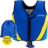 Limmys Premium Neoprene Swim Vest for Children, Ideal Buoyancy Swimming Aid for Boys and Girls, BONUS Drawstring Bag Included, 2 x BONUS eBooks