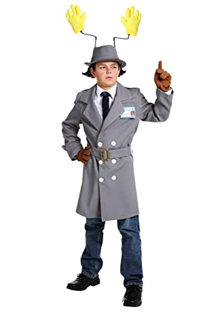 Amazoncom Inspector Gadget Boys Costume Clothing