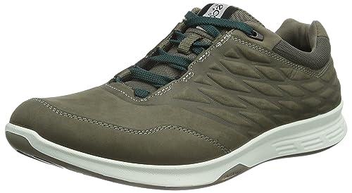 überlegene Materialien Genieße den kostenlosen Versand ästhetisches Aussehen ECCO Men's Exceed Low Walking Shoe Fashion Sneaker