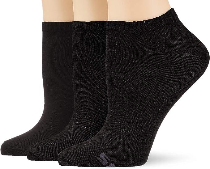 Skechers Socks SK43007 Calcetines cortos, Gris (fog melange 9200), 39/42 EU (Pack de 3) para Mujer: Amazon.es: Ropa y accesorios
