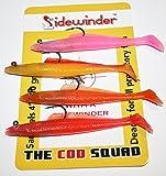 "Sidewinder The Cod Squad Sandeels 10 gram 4"""