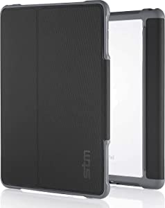 STM Dux, rugged case for Apple iPad Mini 4 - Black (stm-222-104GZ-01)