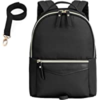 mommore Fashion Toddler Backpack Travel Kids Backpack with Small Toddler Leash (Black)