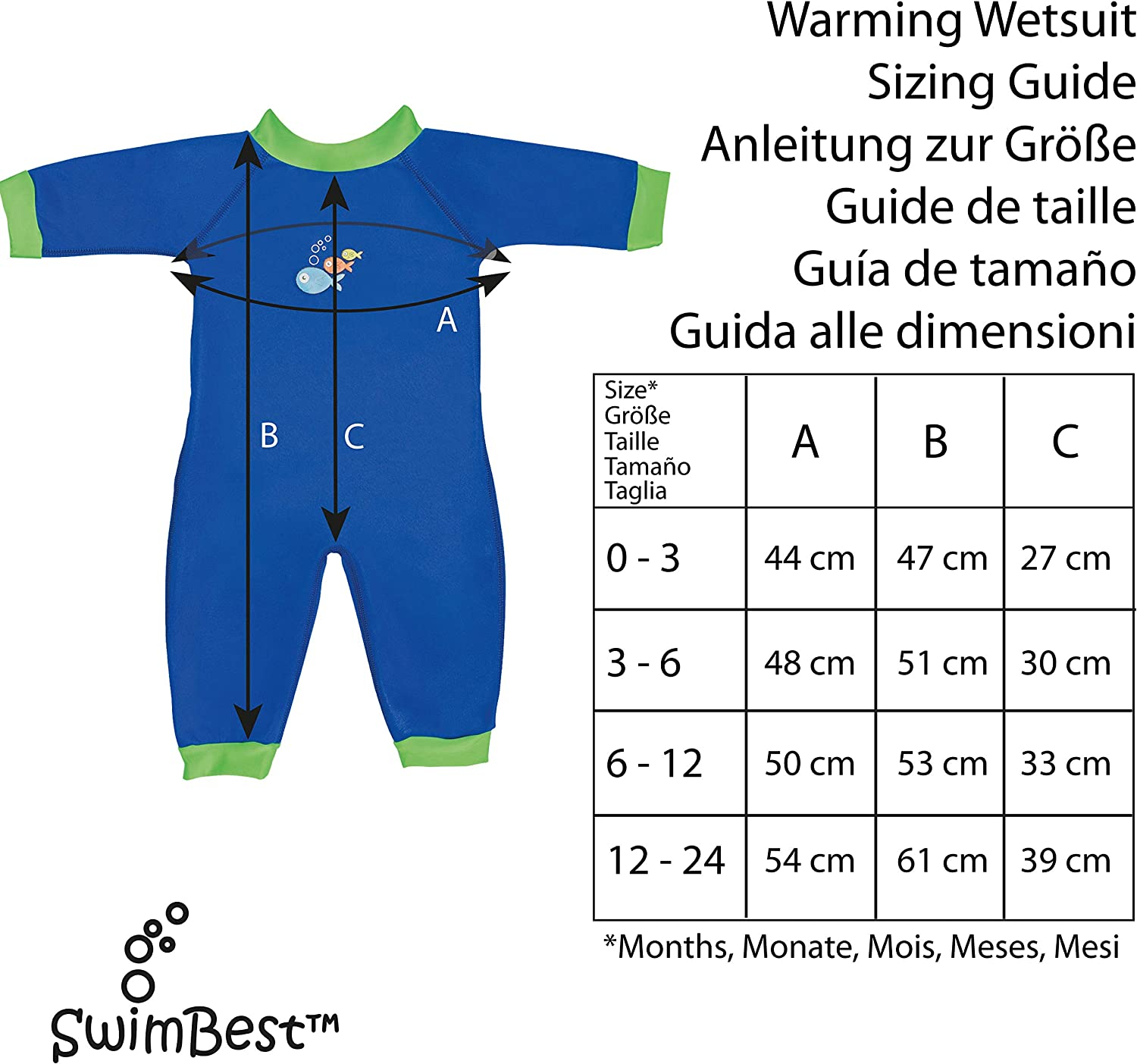 All at Sea, 6-12 Months Warmsuit Wetsuit