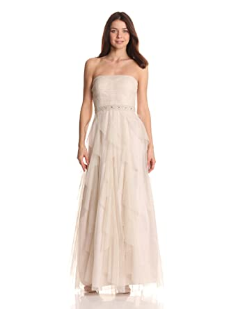 0ad20c0b27a Adrianna Papell Hailey Women's Dresses Women's Glitter Ballgown at Amazon  Women's Clothing store: