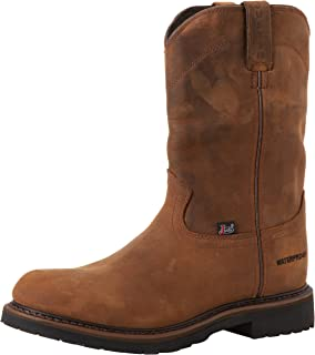 Amazon.com | Justin Original Work Boots Men's Double Comfort 4760 ...