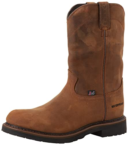 2876ccb8051 Justin Work Boots Men's Worker II Waterproof Wk Work Boot, Wyoming ...