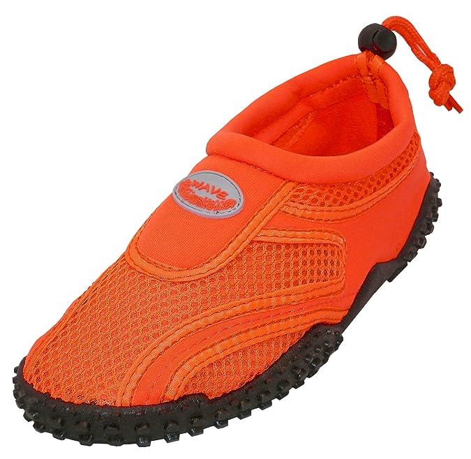 Women's Slip-On Closed Toe Mesh Quick Dry Non-Slip Drawstring Water Shoe