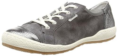 Josef Seibel Women's Caspian 14 Low-Top Sneakers Grey Size: 3