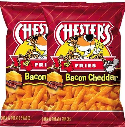NUEVO Bacon Cheddar patatas fritas sabor maíz y patata ...