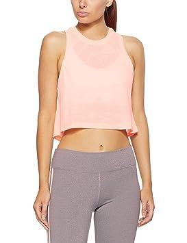 Adidas Aeroknit Tank - Camiseta, Mujer, Naranja(NARCLA): Amazon.es: Deportes y aire libre
