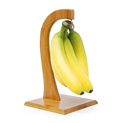 Relaxdays Porte-banane SHELDON présentoir
