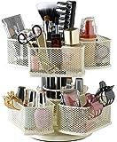 Nifty Cosmetic Organizing Carousel, Cream