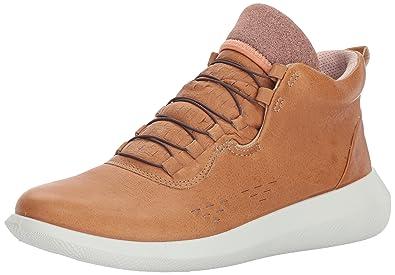03df27631ad356 ECCO Women's Women's Scinapse High Top Fashion Sneaker, VOLLUTO, 35 EU/4-