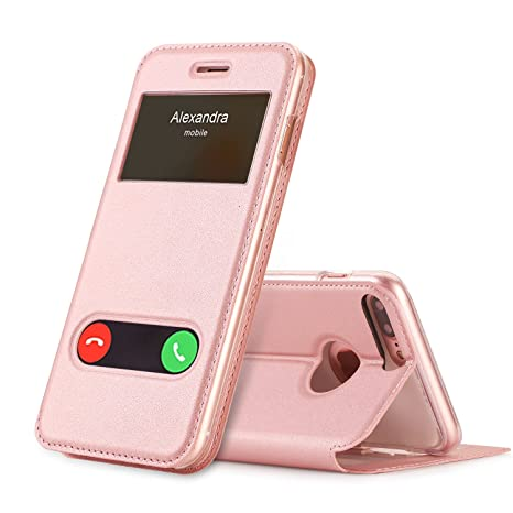 coque iphone 8 plus rose pale