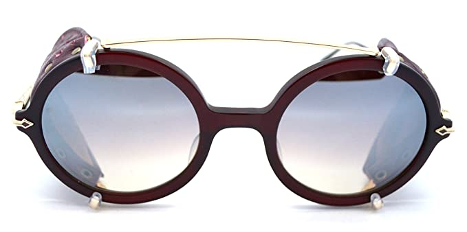 df8c2e38d8c Matsuda M2030 limited edition matte burgundy sunglasses with removable side  shields