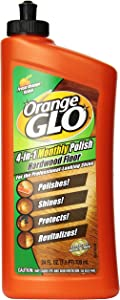 Orange Glo Hardwood Floor 4-in-1 Monthly Polish, 24 Oz (Pack of 2)