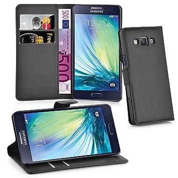 Cadorabo - Carcasa para Samsung Galaxy A5 2015 (5) en Color Negro