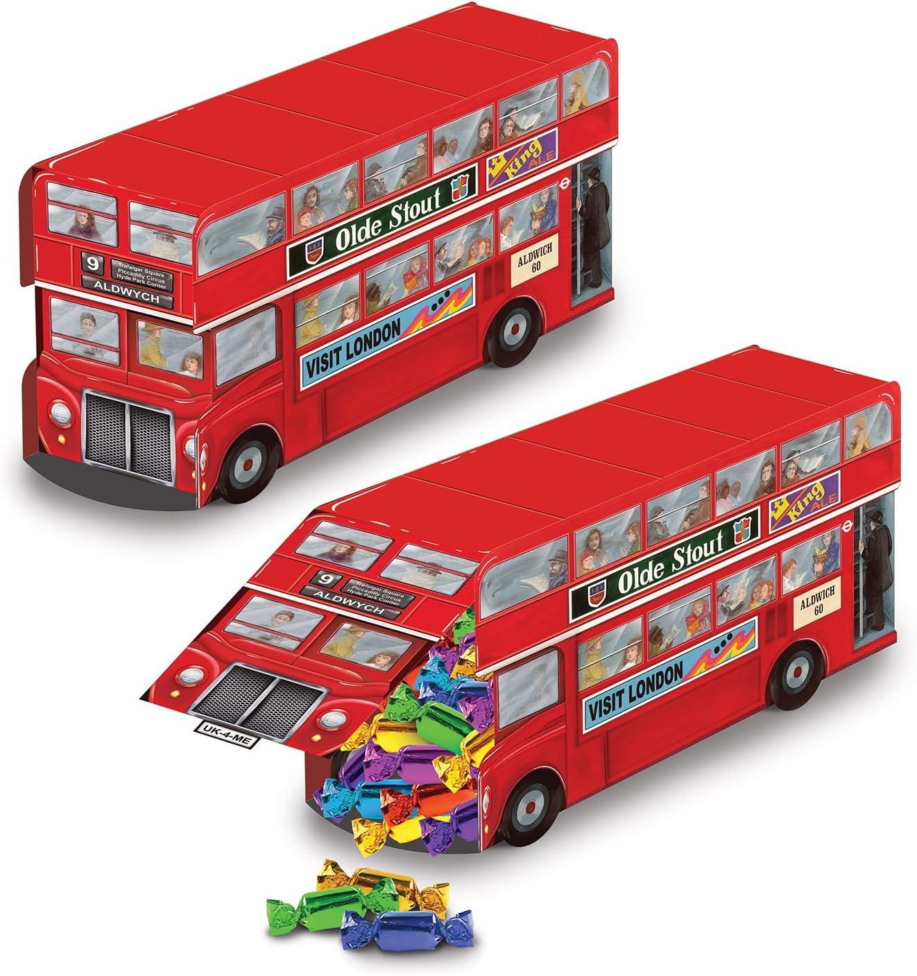 Beistle Double Decker Bus Centerpiece, 91/4-Inch