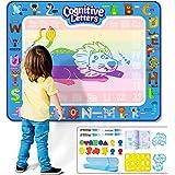 Infinno Aqua Magic Doodle Mat Extra Large Water Drawing Mat Kids Painting Writing Doodle Coloring Mat Educational Toys…