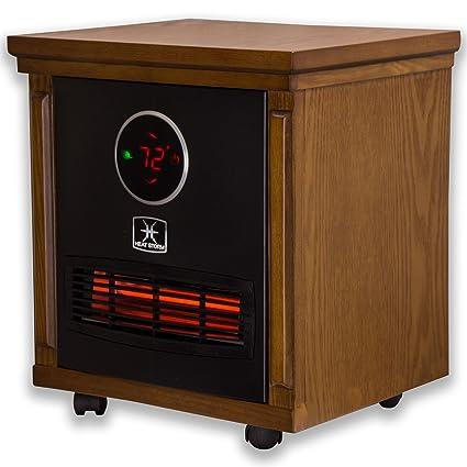 Amazon.com: Heat Storm HS-1500-SISM Indoor Portable Infrared Space ...