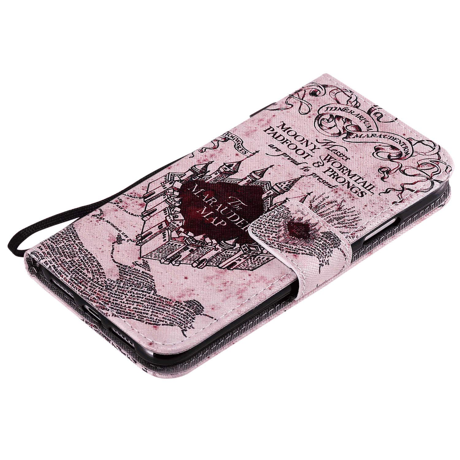 iPhone 11 Pro Flip Case Cover for iPhone 11 Pro Leather Card Holders Extra-Protective Business Wallet case Kickstand with Free Waterproof-Bag