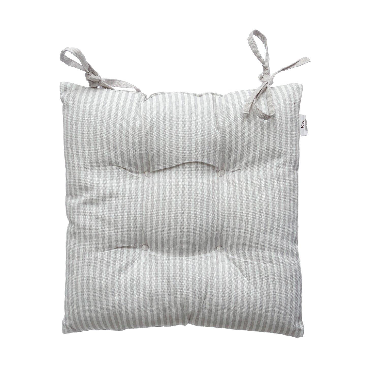 Cuscino per sedia da 40x40 cm in cotone KASANOVA
