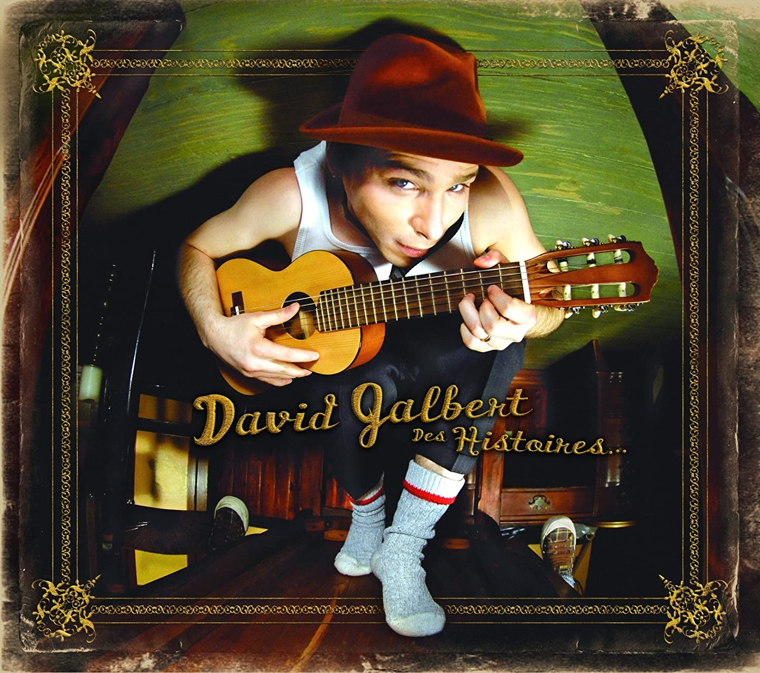 Des Histoires David Jalbert Unidisc Music Francais World Music