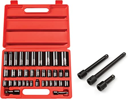 Tekton Impact Driver Socket Extension Bar Set 3 Piece Drill Bit 1//2 inch Drive
