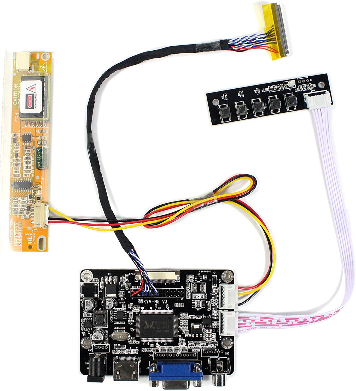 Controladora  LCD HDMI VGA AV  14.1 LP141WX3 15.4 B154EW02