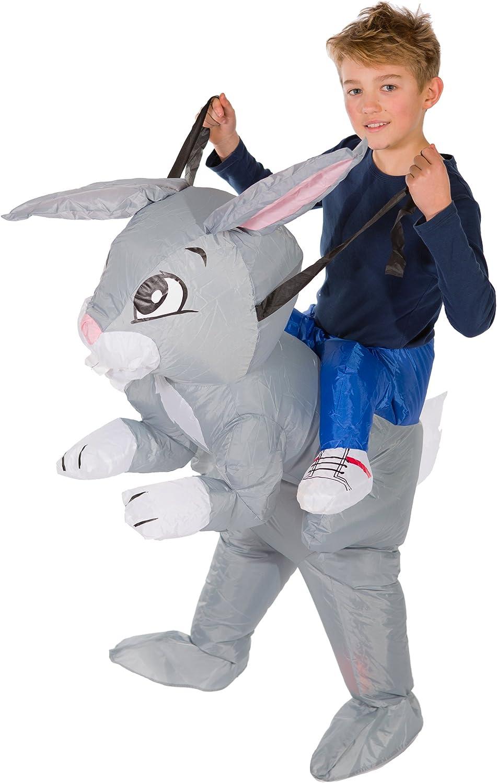 Bodysocks® Disfraz Hinchable de Conejo Niño: Amazon.es: Juguetes y ...