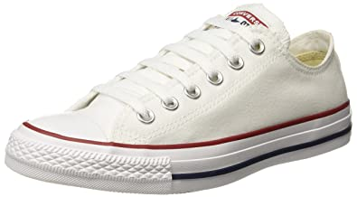 d150bf1fe880 Converse Unisex's Optical White Sneakers - 10 UK/India (44 EU) (150768C