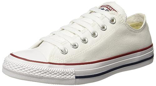 c22dad00d95c50 Converse Unisex s Optical White Sneakers - 10 UK India (44 EU) (150768C