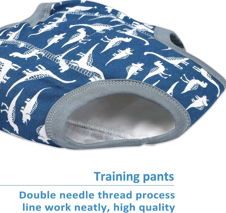 Flyish Baby Training Pants Kids Training Underwear Toddler Potty Training Pants Baby Underwear Toilet Training Underwear