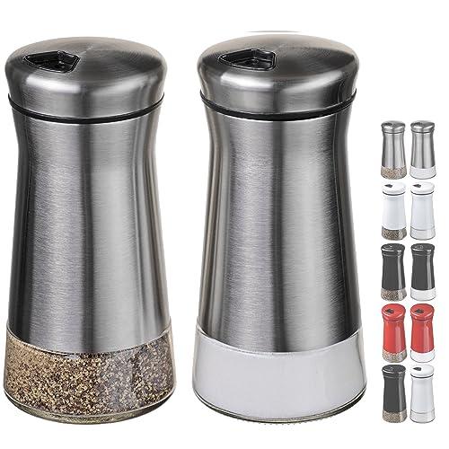 Metal Salt And Pepper Shaker Sets: Amazon.com
