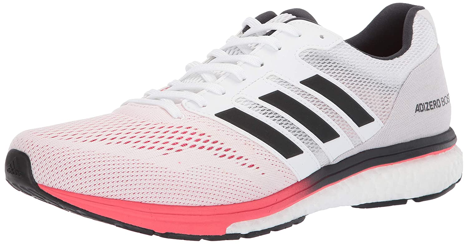 blanc voiturebon Shock rouge 42.5 EU adidasBB6536-11.5 - Adizero Boston 7 Homme