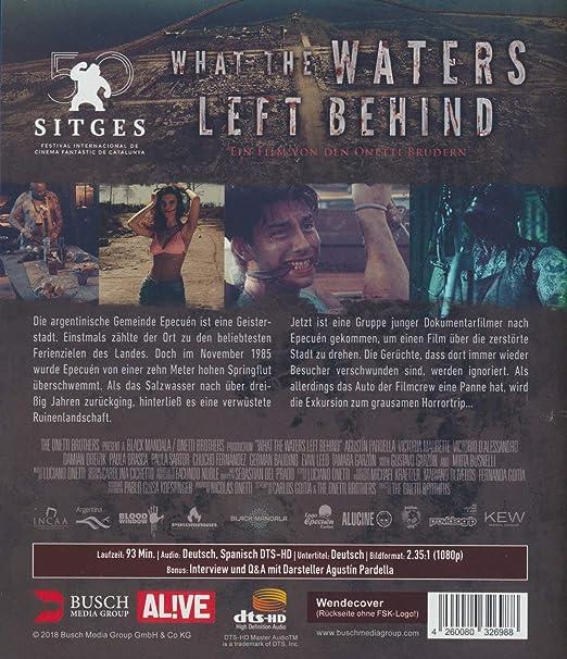 What the Waters Left Behind Blu-ray Alemania Blu-ray: Amazon.es: Mirta Busnelli, German Baudino, Paula Brasca, Victorio DAlessandro, Augustin Pardella, ...