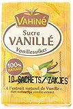 Vahiné Sucre Vanillé Pack de 10 Sachets x 7,5 g