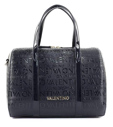 Mario Valentino Valentino by Serenity Bolso de mano azul oscuro: Amazon.es: Zapatos y complementos