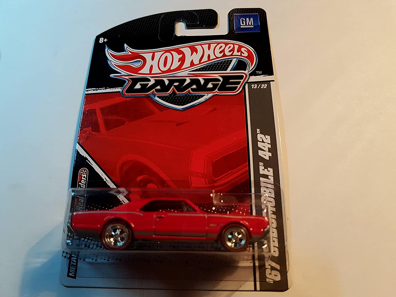 2011 Hot Wheels Garage GM Series '67 Oldsmobile 442 ROT  13/22 by Hot Wheels