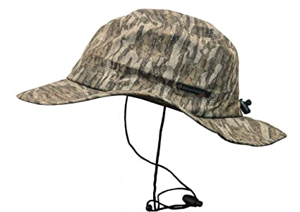 4dcb8a9d06d COMPASS 360 Waterproof HydroTek Camouflage Bucket Hat (Mossy Oak Bottomland)