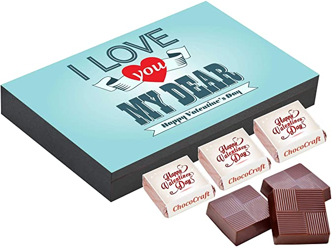 Chococraft Gift Ideas For Boyfriend Valentines Gifts For Men 6 Chocolate Box Amazon In Grocery Gourmet Foods