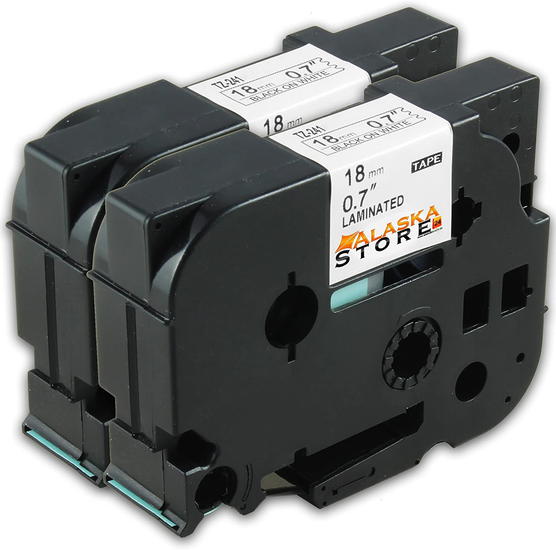 P 700 vhbw Kassette Patronen Schriftband 24mm blau f/ür Brother P-Touch 9700 PC H 500 TZE-551. H 500 Li 9800 PCN RL 700 S wie TZ-551 E 500 VP