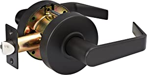 Master Lock SLCHPG10B Heavy Duty Lever Style, Grade 2 Commercial Passage Door Lock, Oil Rubbed Bronze Finish